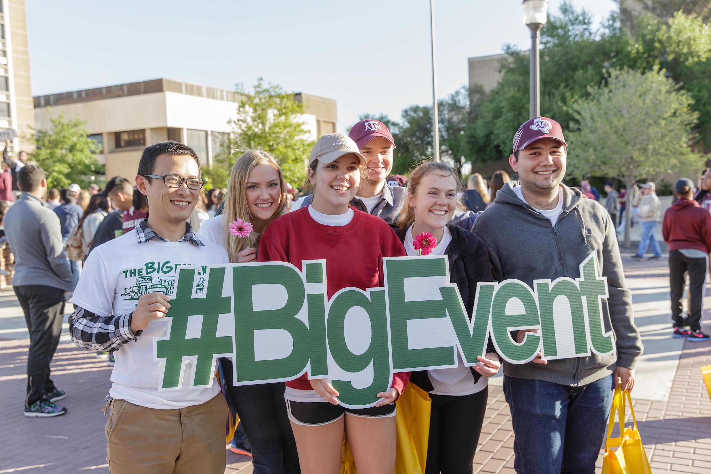 The Big Event Participants
